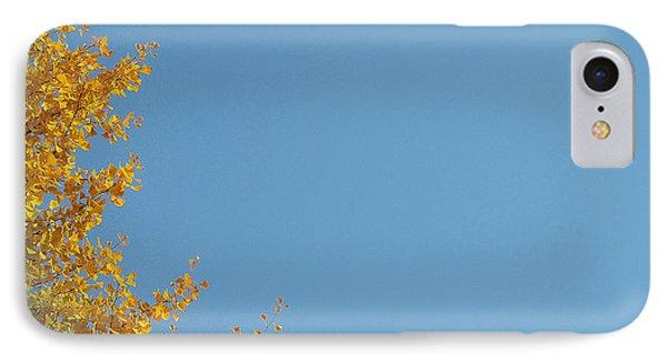 Ginkgo Fantasy In Blue Phone Case by Eena Bo