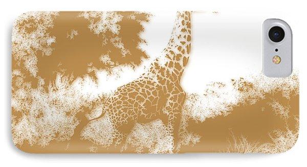 Giraffe 2 IPhone Case by Joe Hamilton