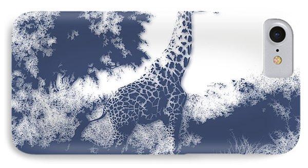 Giraffe IPhone Case by Joe Hamilton
