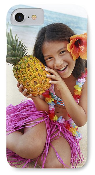 Girl In Tropical Paradise Phone Case by Brandon Tabiolo - Printscapes