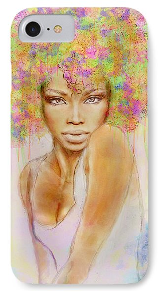 Girl With New Hair Style IPhone 7 Case by Lilia D