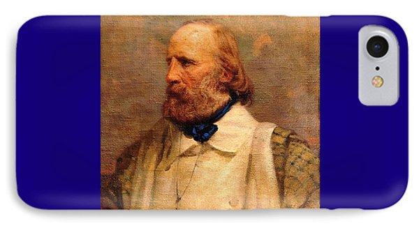 Giuseppe Garibaldi Phone Case by Pg Reproductions