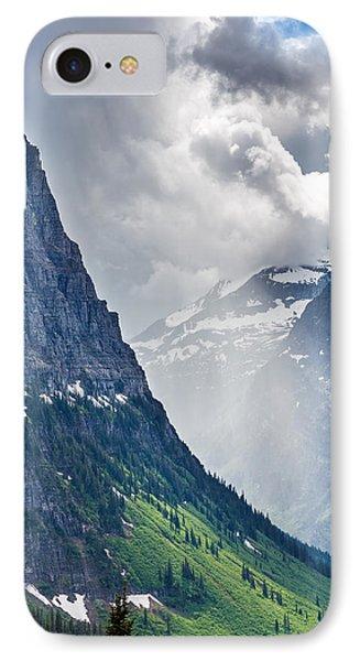 Glacier Storm IPhone Case by Robert Bynum