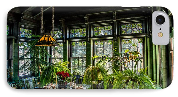 Glensheen Mansion Breakfast Room IPhone Case by Paul Freidlund