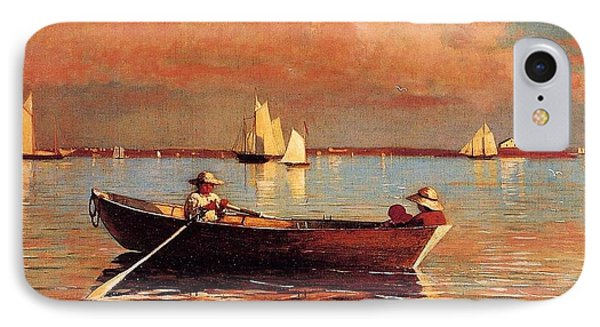 Gloucester Harbor Phone Case by Winslow Homer