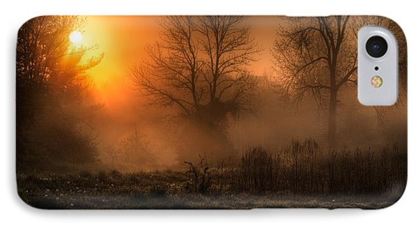 Glowing Sunrise IPhone Case by Everet Regal