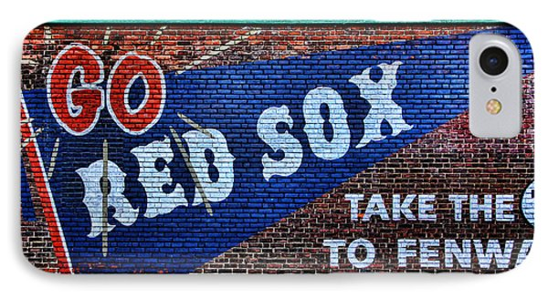 Go Red Sox IPhone Case by Stephen Stookey