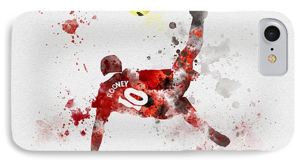 Goal Of The Season IPhone Case by Rebecca Jenkins
