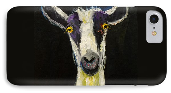 Goat Gloat IPhone 7 Case by Diane Whitehead