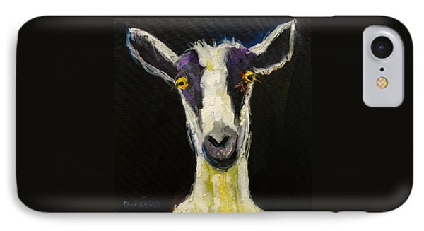 Goat Gloat IPhone Case by Diane Whitehead