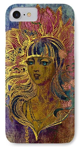 Goddess Lotus I IPhone Case by Irina Effa