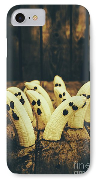 Going Bananas Over Halloween IPhone Case by Jorgo Photography - Wall Art Gallery
