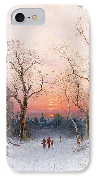 Going Home IPhone Case by Nils Hans Christiansen
