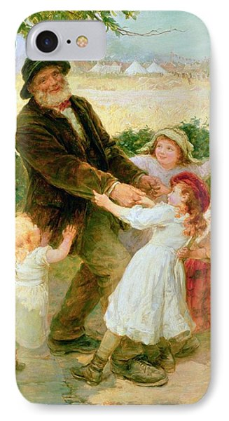 Going To The Fair Phone Case by Frederick Morgan