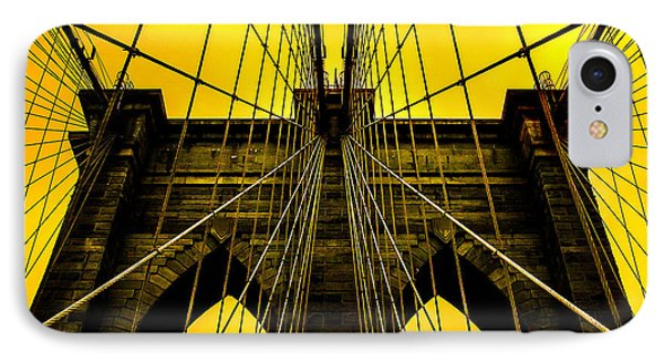 Golden Arches IPhone Case by Az Jackson