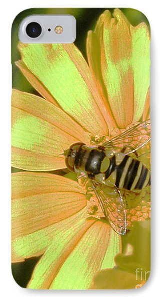 Golden Bee Phone Case by Karol Livote