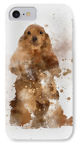 Golden Cocker Spaniel IPhone Case by Rebecca Jenkins