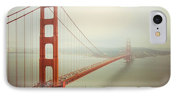 Golden Gate Bridge IPhone 7 Case by Ana V Ramirez