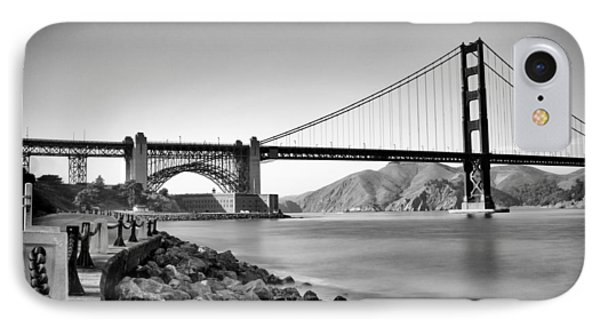 Golden Gate From Fort Point Phone Case by Tanya Harrison