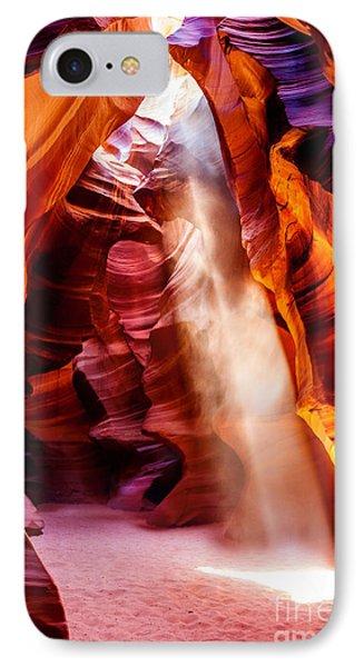 Golden Pillars IPhone Case by Az Jackson
