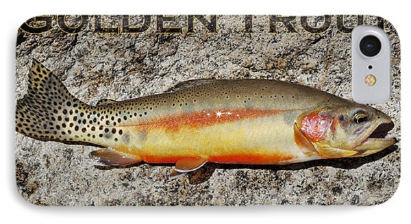 Golden Trout Phone Case by Kelley King