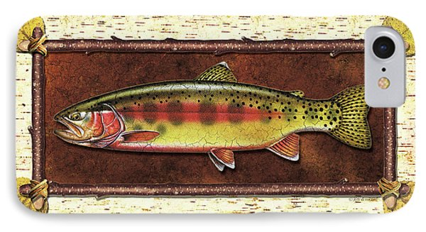 Golden Trout Lodge IPhone Case by JQ Licensing