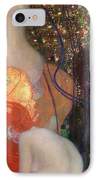 Goldfish IPhone Case by Gustav Klimt