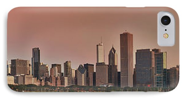 Good Morning Chicago Panorama IPhone Case by Sebastian Musial