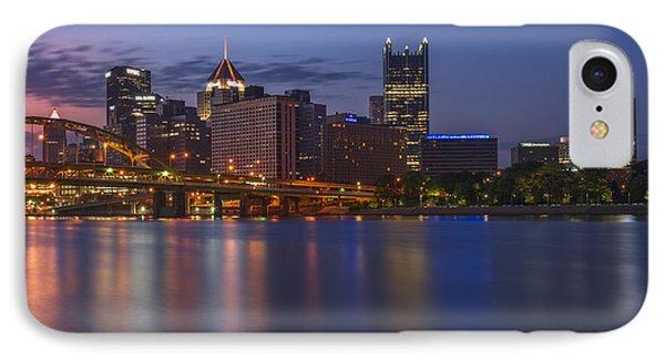Good Morning Pittsburgh IPhone Case by Rick Berk