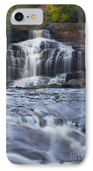 Gooseberry Falls North Shore Minnesota IPhone Case by Wayne Moran
