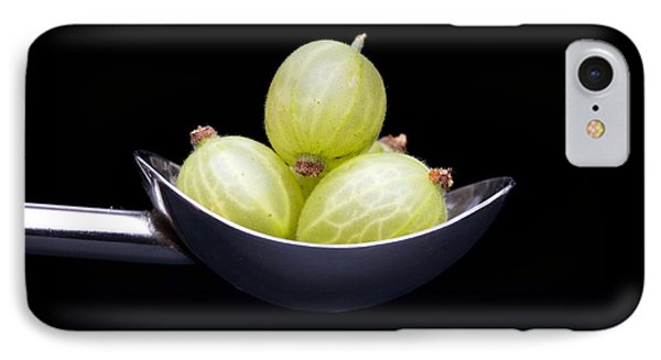 Gooseberry Spoon IPhone Case by Tim Gainey