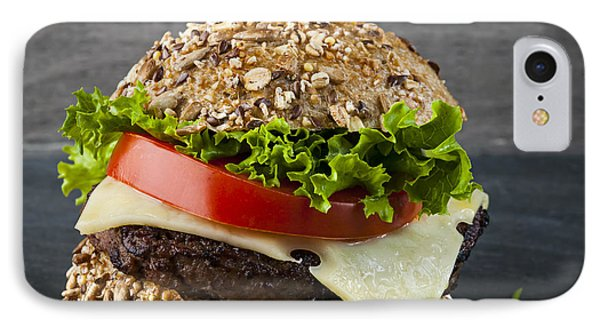Gourmet Hamburger IPhone Case by Elena Elisseeva