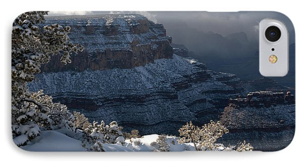 Grand Canyon Storm Phone Case by Sandra Bronstein