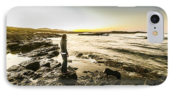 Granville Harbour Sunrise IPhone Case by Jorgo Photography - Wall Art Gallery