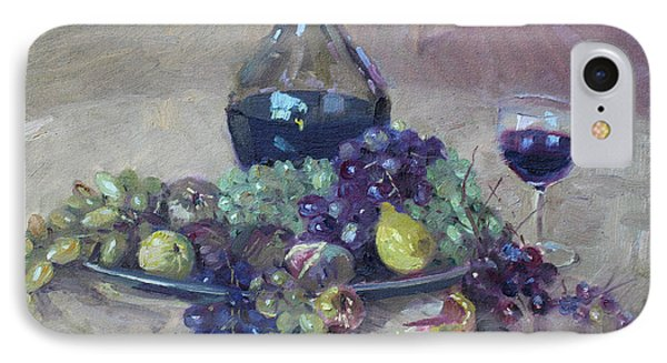 Grape And Wine IPhone Case by Ylli Haruni