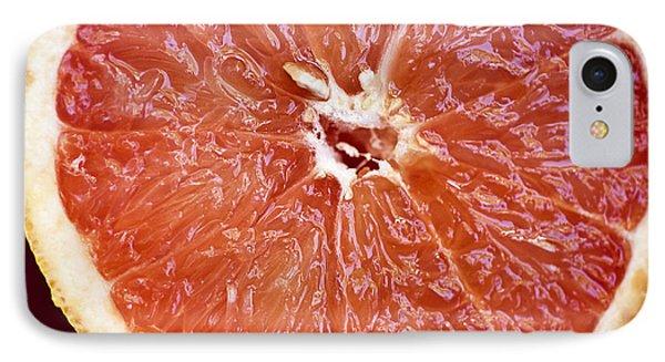 Grapefruit Half Phone Case by Ray Laskowitz - Printscapes