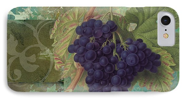 Grapes Margaux IPhone Case by Mindy Sommers