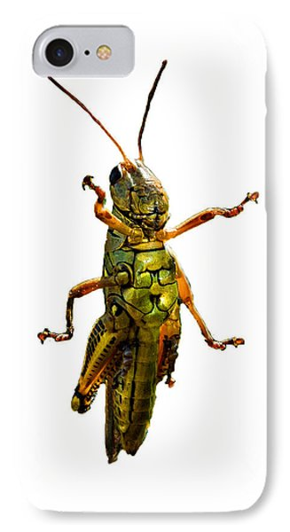 Grasshopper II IPhone 7 Case by Gary Adkins