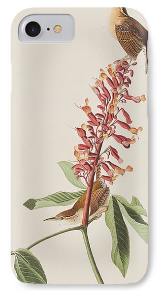 Great Carolina Wren IPhone 7 Case by John James Audubon