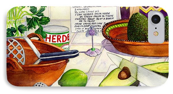 Great Guac. IPhone Case by Catherine G McElroy