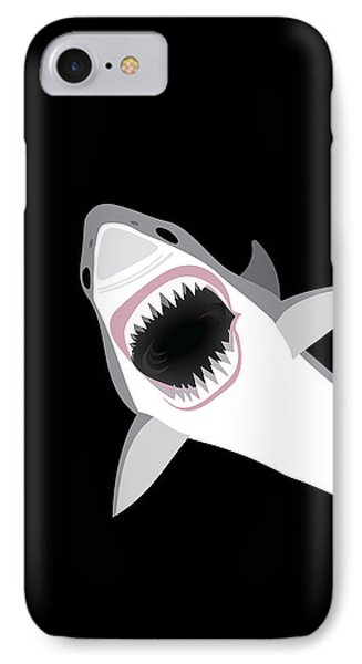Great White Shark IPhone 7 Case by Antique Images