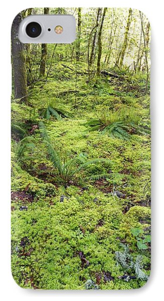 Green Foliage On The Forest Floor Phone Case by Craig Tuttle