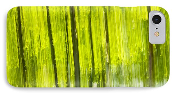 Green Forest Abstract IPhone Case by Elena Elisseeva