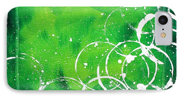 Green Riches By Madart Phone Case by Megan Duncanson