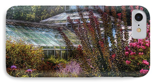 Greenhouse - The Greenhouse IPhone Case by Mike Savad