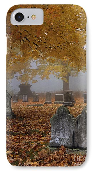 Greenlawn Cemetery - Mount Vernon New Hampshire IPhone Case by Erin Paul Donovan
