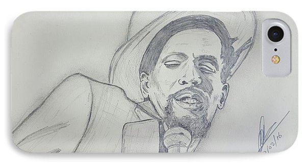 Gregory Isaacs IPhone Case by Collin A Clarke