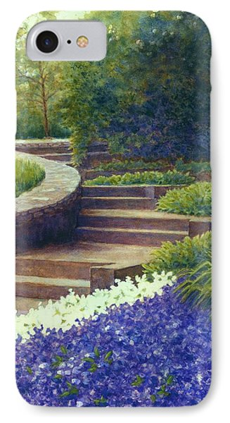 Gretchen's View At Cheekwood IPhone Case by Janet King