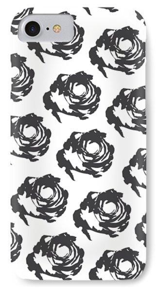 Grey Roses IPhone Case by Cortney Herron