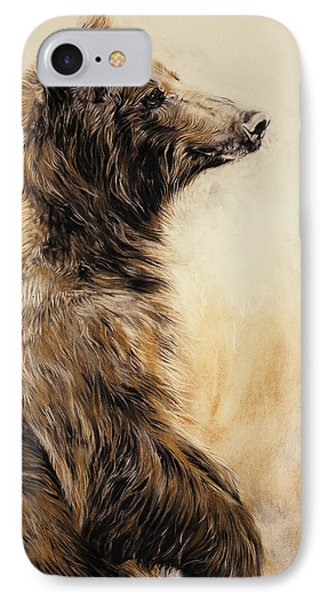 Grizzly Bear 2 IPhone Case by Odile Kidd